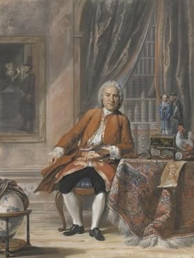 Portrait of Joan Jacob Mauricius, Governor-General of Suriname by Cornelis Troost