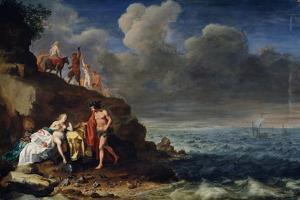 Bacchus and Ariadne on the Island of Naxos, 17th Century by Cornelis van Poelenburgh