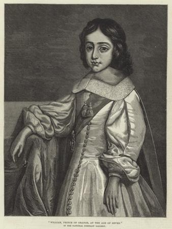 William, Prince of Orange, at the Age of Seven, in the National Portrait Gallery