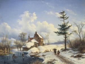 Clear Winter's Day by Cornelius Lieste