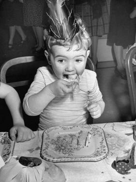 Clapp's Baby Food Company Staging a Child's party by Cornell Capa