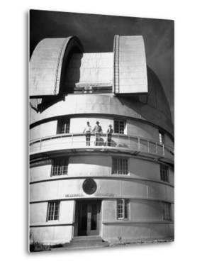 Exterior View of the McDonald Observatory by Cornell Capa