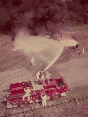 Fire Engines, Elmira, New York by Cornell Capa