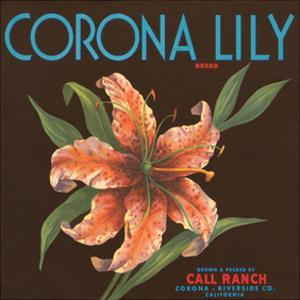 Corona Lily Brand Citrus, California