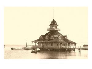 Coronado Boat House, San Diego, California