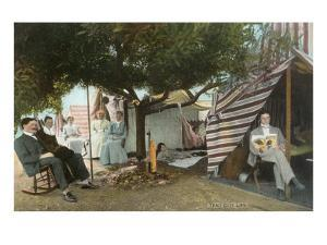 Coronado Tent City Life, San Diego, California