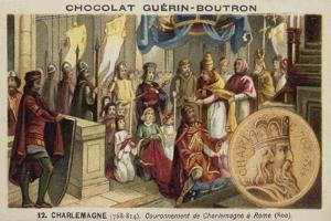 Coronation of Charlemagne as Emperor, Rome, 800