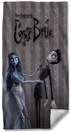 Corpse Bride - Bride And Groom Beach Towel