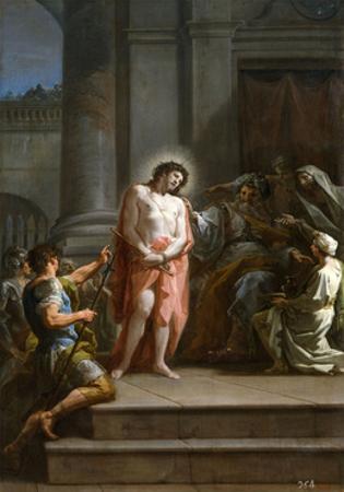 Cristo Ante Pilatos En El Pretorio, Ca. 1754, Italian School