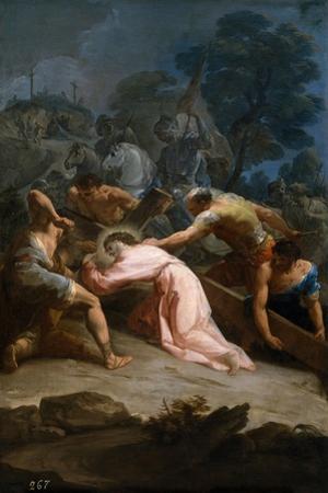Cristo Camino Del Calvario, Ca. 1754