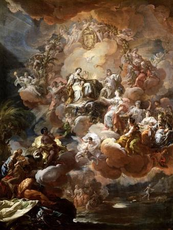 Spain Pays Homage to Religion and to the Church, 1759