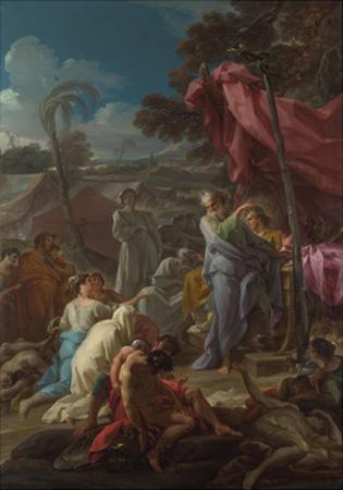 The Brazen Serpent, 1744