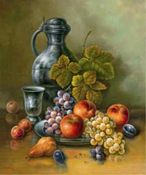Antique Still Life II by Corrado Pila