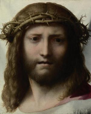Head of Christ by Correggio (Antonio Allegri)