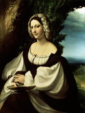 Female Portrait, C1518 by Correggio