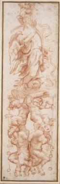 Grotesque Decoration for the Rib of a Vault by Correggio