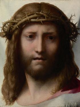 Head of Christ, 1525-1528 by Correggio