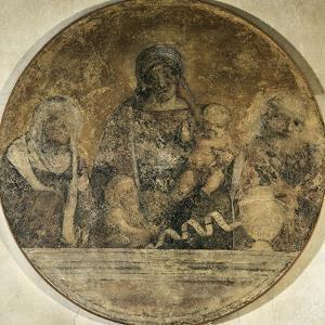 Holy Family with Saints Elizabeth and John, 1509-1511 by Correggio