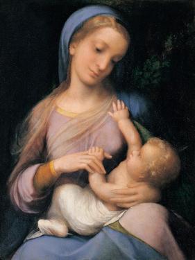 Madonna Campori (Madonna and Child) by Correggio