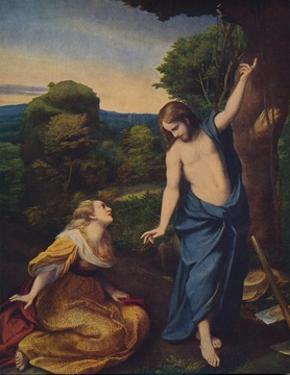 'Noli Me Tangere', 1523-1524, (c1934) by Correggio