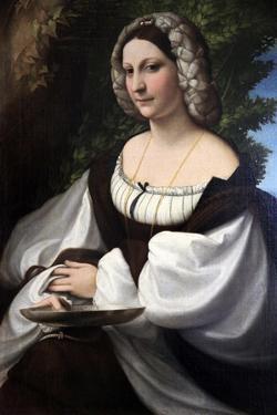 Portrait of a Woman, C1518 by Correggio