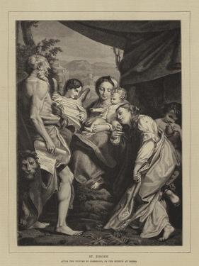 St Jerome by Correggio