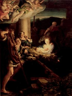 The Holy Night, 1527-1530 by Correggio