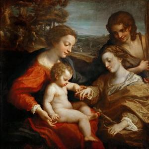 The Mystical Marriage of Saint Catherine by Correggio