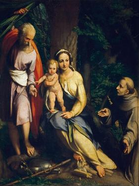 The Rest on the Flight into Egypt by Correggio