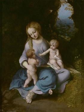 Virgin and Child with John the Baptist as a Boy by Correggio