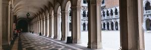 Corridor at a Palace, Doge's Palace, Venice, Veneto, Italy
