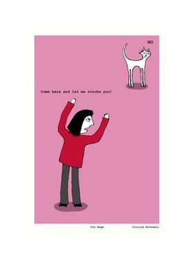 Cat Rage (Pink) by Corrina Rothwell