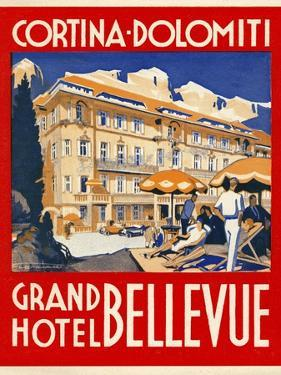Cortina-Dolomiti, Grand Hotel Bellevue
