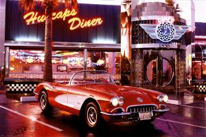 Corvette, 1958 with Diner