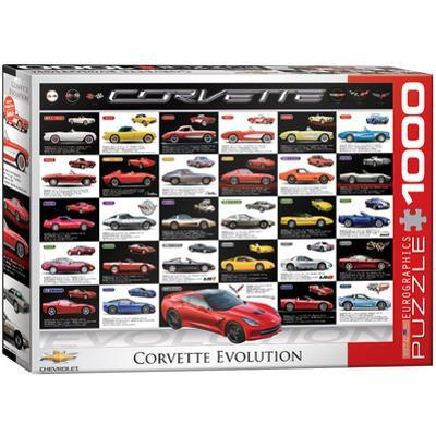 Corvette Evolution 1000 Piece Puzzle