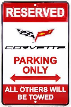 Corvette Parking Only