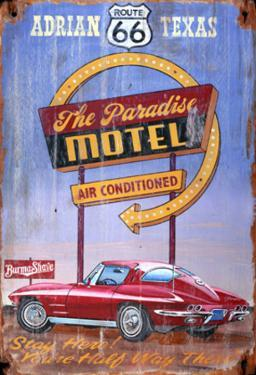 Corvette Wood Sign