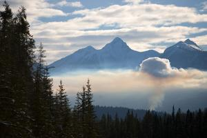 A Forest Fire Outside Golden, British Columbia by Cory Richards