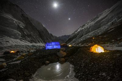 A Tent Site at Camp Ii on the Nepali Side of Everest by Cory Richards