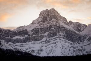 The Imposing North Face of Howse Peak in the Waputik Range of the Canadian Rocky Mountains by Cory Richards