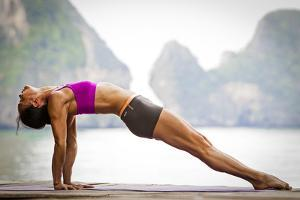 Upward Plank Pose Or Purvottanasana by Cory Richards