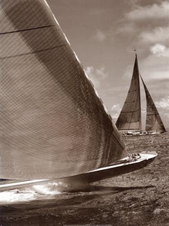 Sepia Sails I by Cory Silken