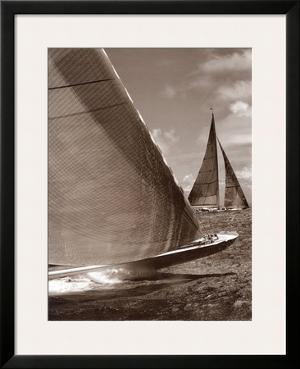 Sepia Sails I by Cory Silken
