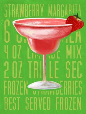 Strawberry Margarita (Vertical) by Cory Steffen