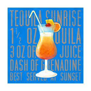 Tequila Sunrise (Square) by Cory Steffen