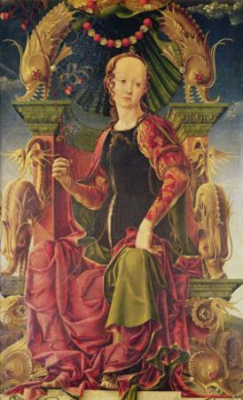 A Muse, c.1455-60