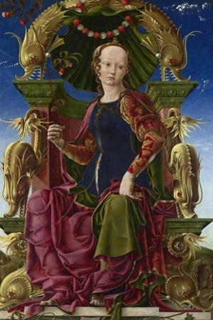 A Muse (Calliop), 1455-1460