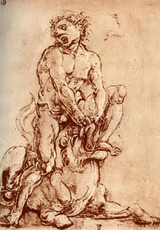 Hercules Killing the Lion, 1913