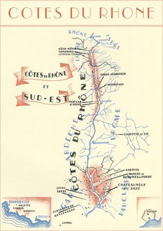Cotes Du Rhone Wine Country