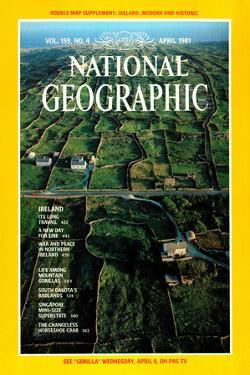 Cover of the April, 1981 National Geographic Magazine by Cotton Coulson